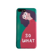 Korean personality girl mobile phone case soft silicone female phone case