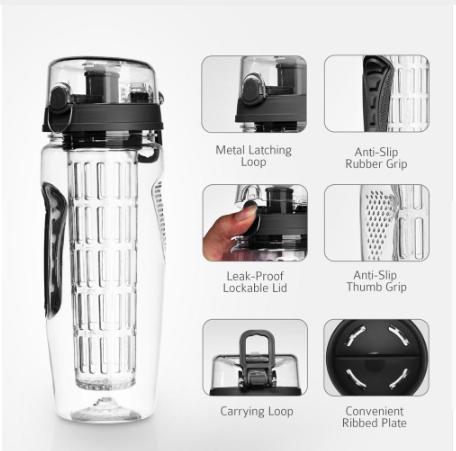 Hardware - 32oz 900ml BPA Free Fruit Infuser