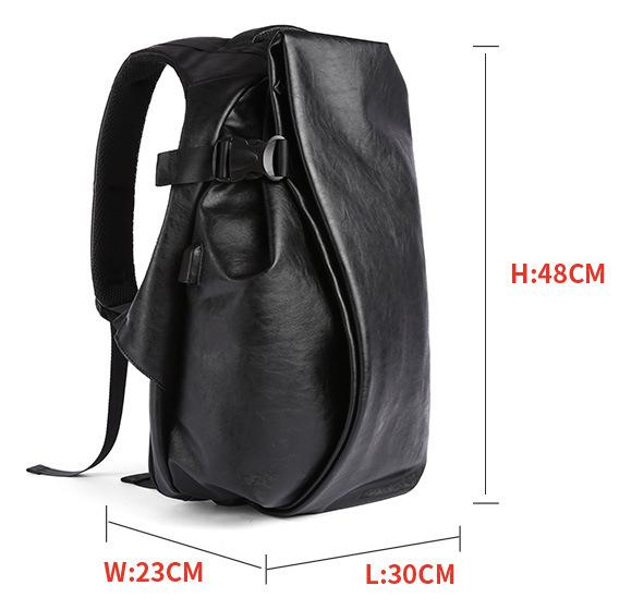 Large Black Smell Proof Backpack Gentcreate.com