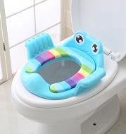 Bebé baño asiento seguro con reposabrazos niñas zapatillas cómodo baño niños baño asiento de inodoro orinales