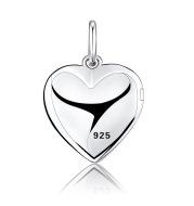 Creative photo custom birthday gift girl girlfriends diy gold-plated love necklace pendant S925 couple pendant