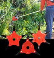 Multi-Leaf Manganese Steel Blade For Mowing Head