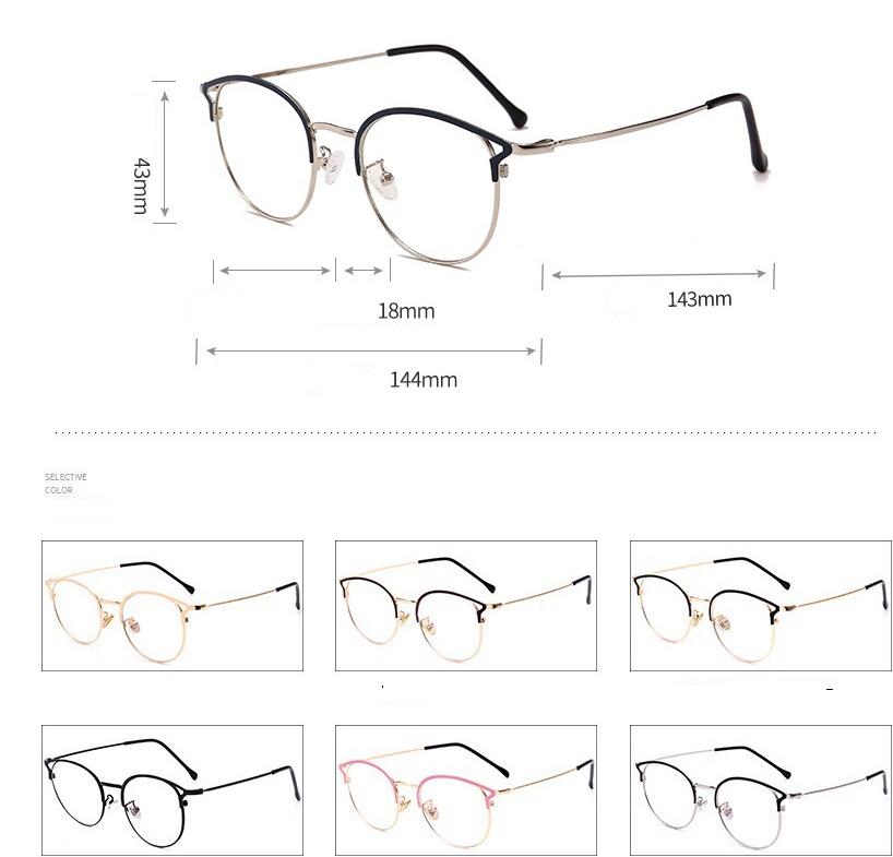 Cat Eye Blue Light Glasses 9029 22
