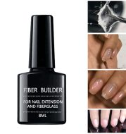 Fiber Bulider Nail Gel Quick Building Repair Broken Nails Soak Off UV Gel