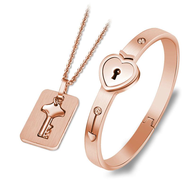 Bracelet Lock with Pendant Key 18