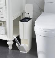 Creative Toilet Brush Trash Cans Garbage Bag Set