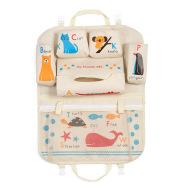 Cartoon car storage bag seat hanging bag