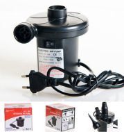 Vehicle electric charging suction pump