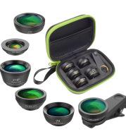 6 in 1 mobile phone lens set