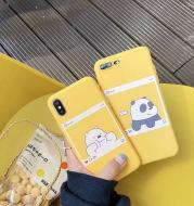 Cute little panda phone case