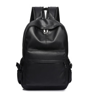 Male leather backpack