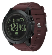 Fitness sports call step counter waterproof round electronic watch