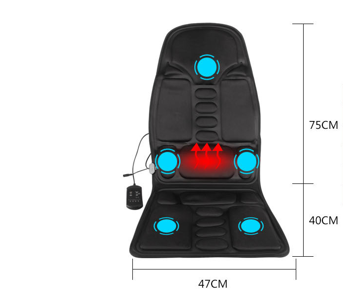 Light - Dual-Use Car and Home Vibration Massage Chair