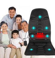 Car massage cushion car home dual-use vibration massage chair