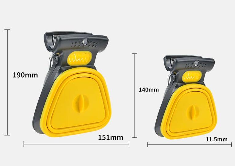 No-Touch Dog & Cat Poop Scooper - Handheld, Small, & Easy | PETZARUS