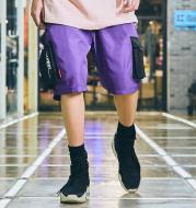 Fashion Men's Five-point Pants Sports Pants