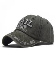 Embroidered baseball cap