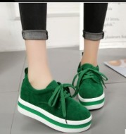 Increase the thick floor shoes women