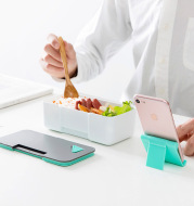 Mobile Phone Holder Lunch Box