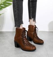 Women's Boots Wild Vintage Martin Martin Boots