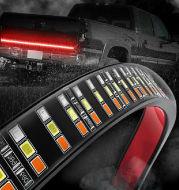 Pickup truck light 60 inch three row three color car pickup taillight