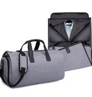 Large-capacity travel bag portable cylinder folding suit bag