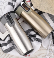 Vacuum Insulated Stainless Steel Travel Mugs Water Flask Thermal Tea Bottle