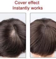 High Temperature Silk Chemical Fiber Wig Top Heart Bangs