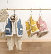 Children's down cotton vest
