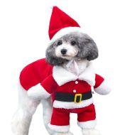 Pet Christmas Decoration Costume Pet Standing Costume