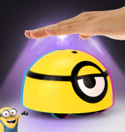 Intelligent Minions Escaping Toy with Cute Sound Funny Gifts for Cat Pet