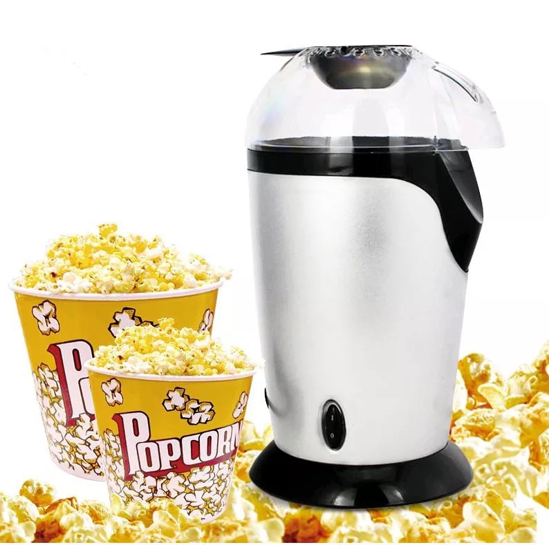 Products Electric Hot Air Popcorn Popper Household Mini Automatic Machine DIY Healthy Snack No Oil Needed