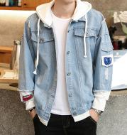 Star Men's Denim Jacket Denim Jacket