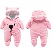 Cute Winter Bear Baby Romper
