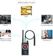 K18 Multi-function Anti Detector Bug Mini Audio SPY-Camera GSM Finder GPS Signal Lens RF Locator Tracker Detect Wireless Camera