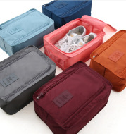 Travel Portable Shoe Bags with Handle Waterproof Lightweight Luggage Storage Pouch Organizer Bag for Men Women
