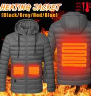 Heated cotton smart electric down jacket