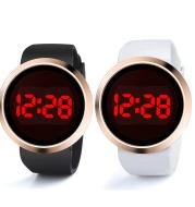 LED electronic couple watch