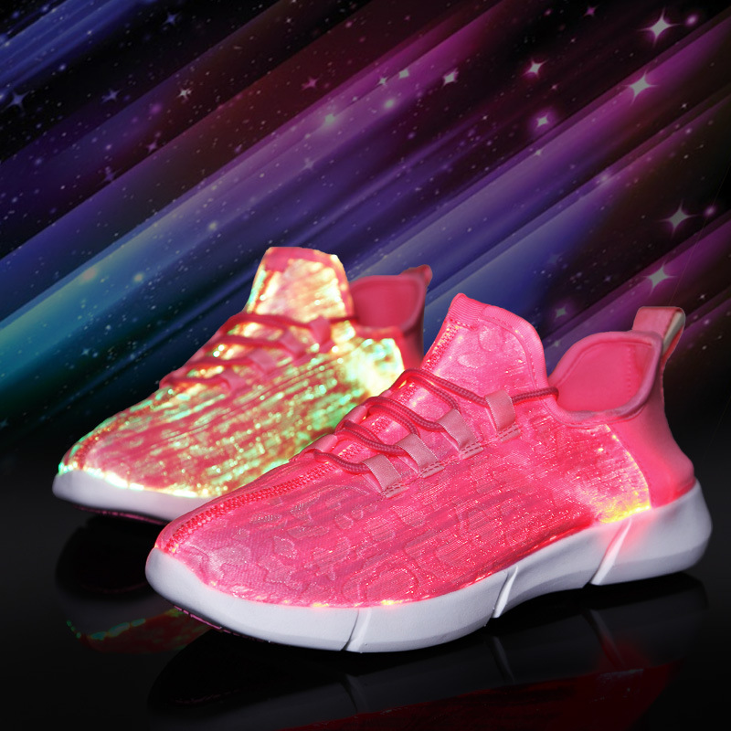 1406784427380 Fiber Optic LED Shoes