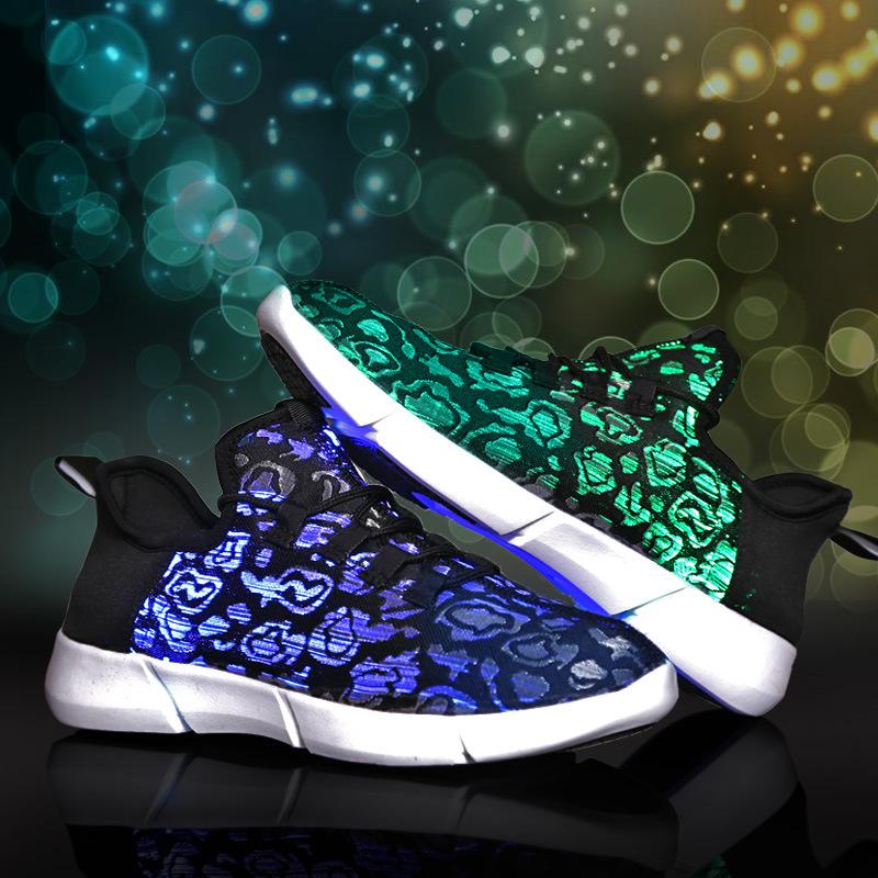 631683412548 Fiber Optic LED Shoes