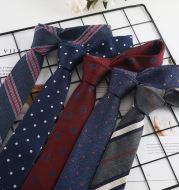 Narrow tie fashion business wild tie stripe