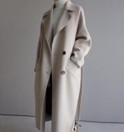 Womens Lapel Cashmere coat