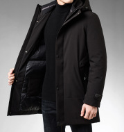 Warm men's cotton clothing