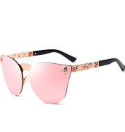 Personality metal sunglasses