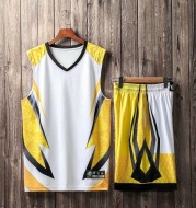 Light board camouflage training basketball suit