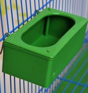 Splash-proof Hanging Bird Food Container