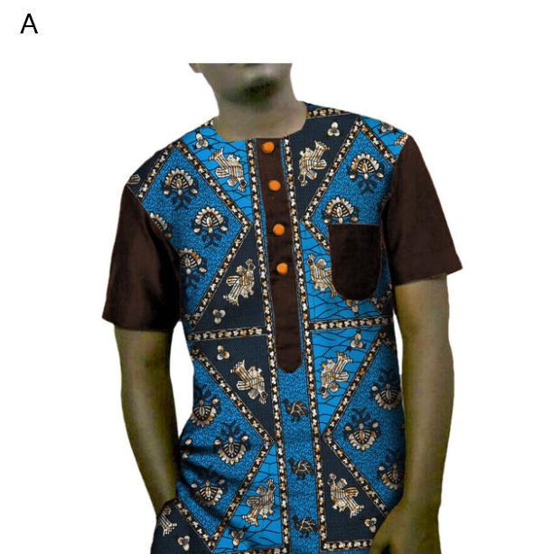 T-shirt Africain 100% cotton
