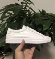 Genuine leather women's sneakers