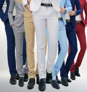Casual business trousers men Korean slim-fit casual pants