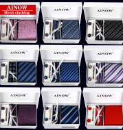 Gift box set of 6 business tie